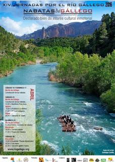 BISCARRUÉS. XIV Jornadas por el río Gállego (sábado, 30)