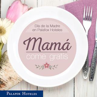Mamá come gratis en Aragonia Palafox y Celebris (sábado, 30)