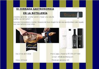 EJEA DE LOS CABALLEROS. Jornada gastronómica (jueves, 14)