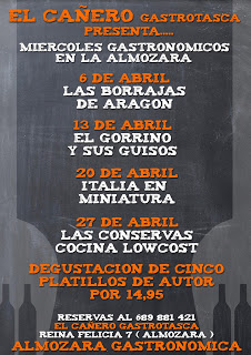 Miércoles gastronómicos en La Almozara (miércoles de abril)
