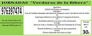 Jornadas de la verdura de la Ribera (abril)