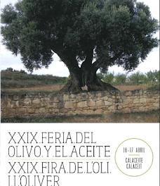 CALACEITE. Feria agrícola del olivo y del aceite (días 16 y 17 de abril)