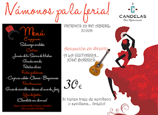 Feria de abril EL CANDELAS (viernes, 29)