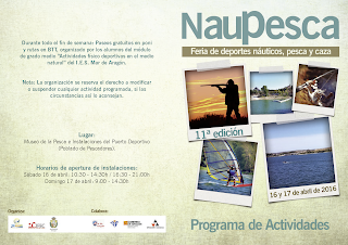 CASPE. Feria Naupesca (del 15 al 17 de abril)