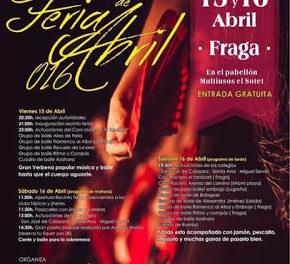 FRAGA. Feria de abril (días 15 y 16)