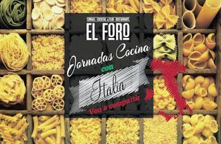 Jornadas de cocina italiana en EL FORO (abril)