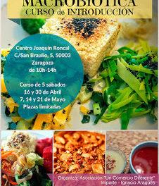 Curso de cocina macrobiótica (sábados, 16 y 30 de abril, 7, 14 y 21 de mayo)