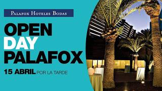 Jornada de puertas abiertas, bodas, en el Hotel Palafox (sábado, 16)
