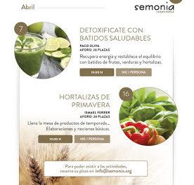 HUESCA. Taller de Hortalizas de primavera (sábado, 16)