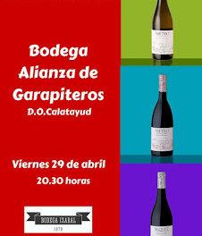 BINÉFAR. Cata de vinos de Alianza de garapiteros (viernes, 29)