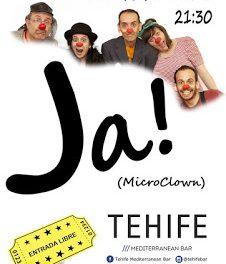 Microclown en el TEHIFE (viernes, 22)