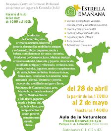 Mercadillo solidario (del 28 de abril al 2 de mayo)