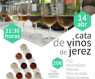 HUESCA. Cata de vinos de Jerez (jueves, 14)