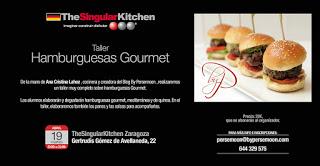 Taller de hamburguesas gourmet (martes, 19)