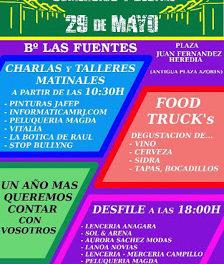 Degustación Food Truck's en Las Fuentes (domingo, 29 de mayo)