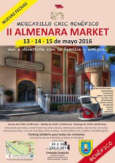 Almenara market (viernes a domingo, 13 al 15 de mayo)