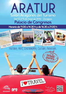 Aratur, Salón aragonés del turismo (del 13 al 15)