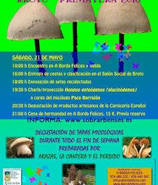 BROTO. Jornadas micológicas (sábado y domingo, 21 y 22)