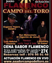 Cena menú flamenco (viernes, 3)
