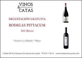 Degustación de vino (viernes y sábado, 6 y 7)