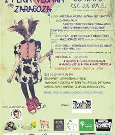 Feria vegana (sábado, 28)
