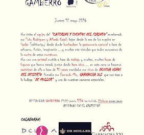 Cena en GAMBERRO con CATERINg Y EVENTOS DEL PIRINEO (jueves, 12)