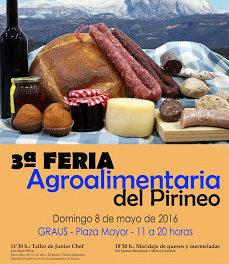 GRAUS. Feria agroalimentaria del Pirineo (domingo, 8)
