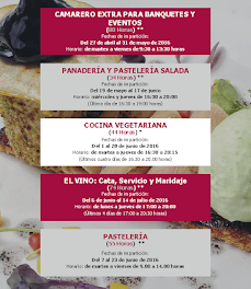 Curso de Panadería y pastelería salada (del 19 de mayo al 17 de junio)