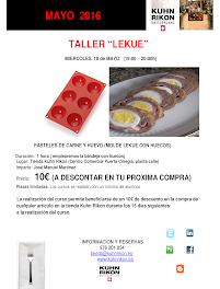 Taller de cocina (miércoles, 18)