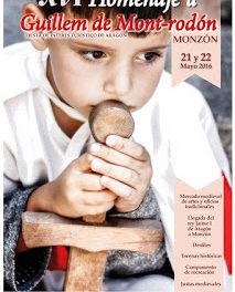 MONZÓN. Mercado medieval (días 21 y 22 de mayo)