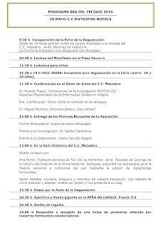 HUESCA. Jornada del celíaco (sábado, 28)