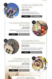HUESCA. Charla sobre Alimentación y salud (viernes, 27)