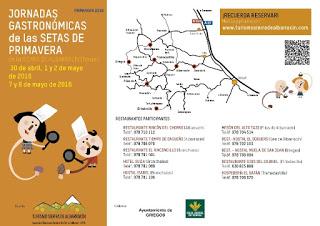 Jornadas micológicas de primavera en  la Sierra de Albarracín (días 7 y 8)