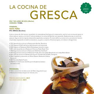 HUESCA. Taller La cocina de Gresca (martes, 7)