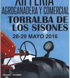 TORRALBA DE LOS SISONES. Feria agroganadera y comercial (días 28 y 29 de mayo)
