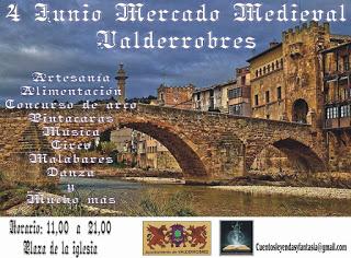VALDERROBRES. Mercado Medieval (sábado, 4)