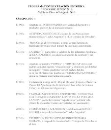 VELILLA DE EBRO. Las Nonas de junio, fin de semana romano (4 y 5 de junio)