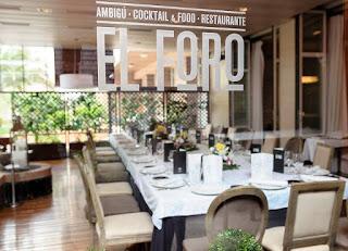 Menú de temporada en EL FORO (mayo-junio)