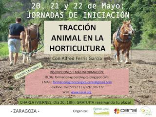 Curso de tracción animal (del 20 al 22)