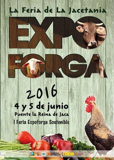 PUENTE LA REINA DE JACA. Feria Expoforga (días 4 y 5 de junio)
