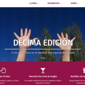 Presentación de cartel de la X edición de la Feria de vinos de Montañana (viernes, 3)