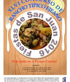 EJEA DE LOS CABALLEROS. Fiestas de san Juan y Las horas de nuestra historia (del 24 al 26)