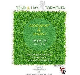 Verano y vino (jueves, 16)