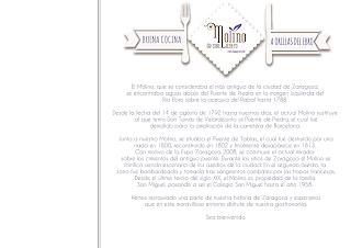 Carta a precio cerrado en el MOLINO DE SAN LÁZARO (hasta finales de septiembre)
