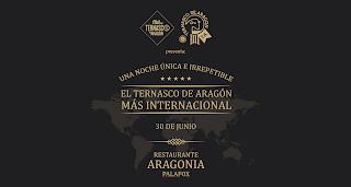 Maridaje del Ternasco de Aragón con cocinas del mundo en ARAGONIA PALAFOX (jueves, 30)