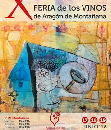 MONTAÑANA. Feria de los Vinos de Aragón (del 17 al 19)