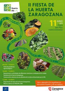 Fiesta de la Huerta zaragozana (sábado, 11)