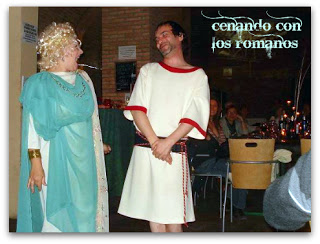 Cena teatralizada, Una de romaños (viernes, 24)
