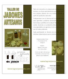 Taller de jabones artesanos (sábado, 11 de junio)