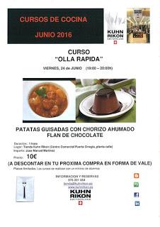 Curso de cocina (viernes, 24)